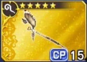 DFFOO ヴァニラ(FF13)の相性武器 メディックスタッフ【ⅩIII】